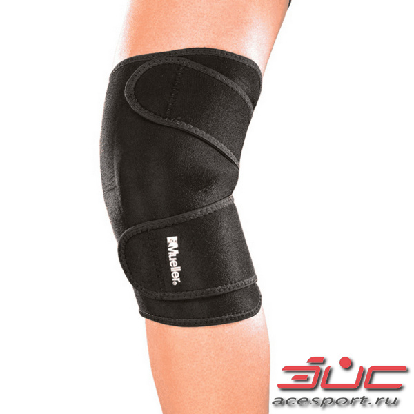 MUELLER MUELLER 4533 KNEE SUPPORT CLOSED PATELLA Фиксатор колена (черный)